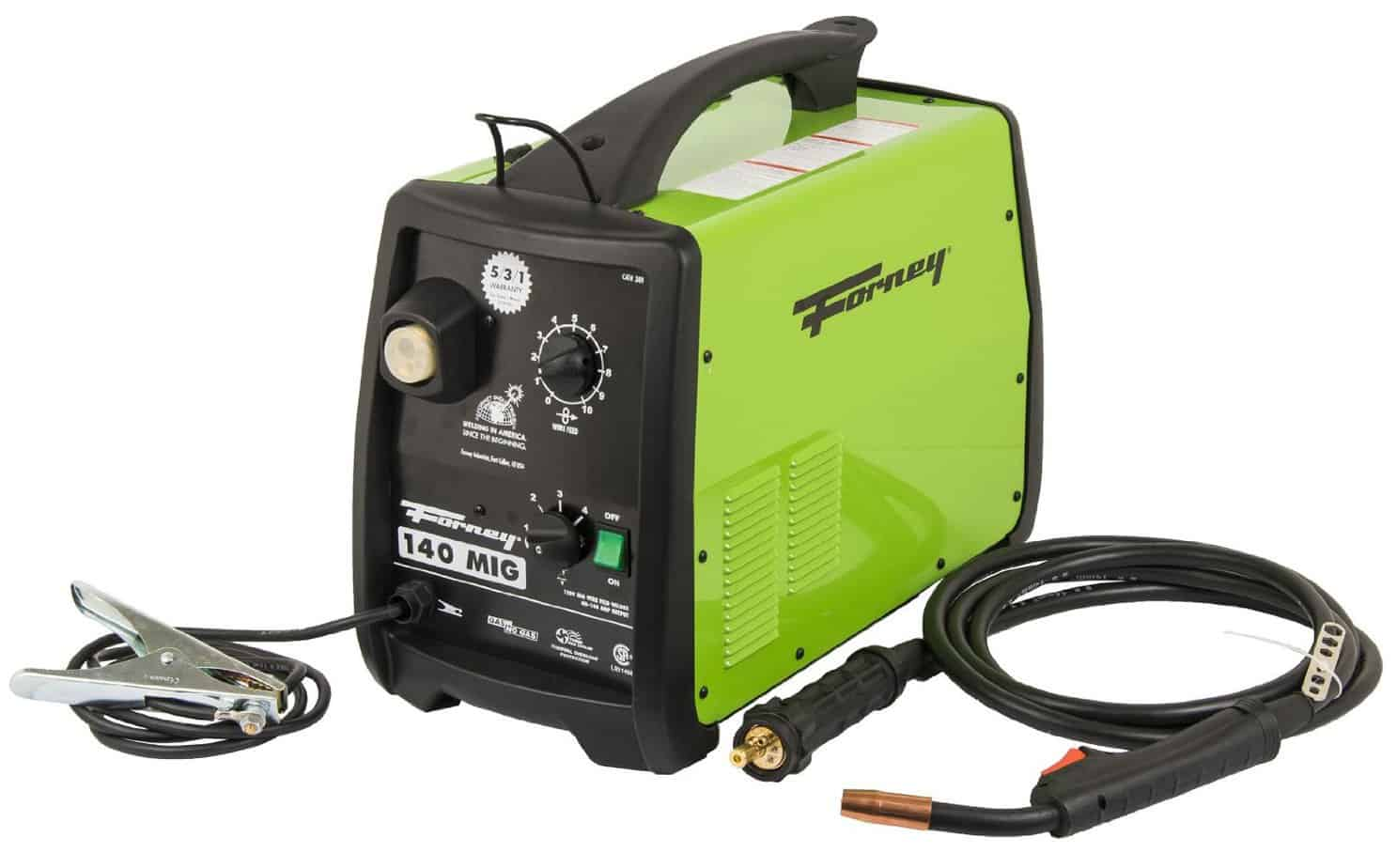 6 Best Mig Welder Reviews 2018 Edition 110v 220v Mvp Included Also 220 Volt To Generator Adapter On Cord Wiring Forney 125fc