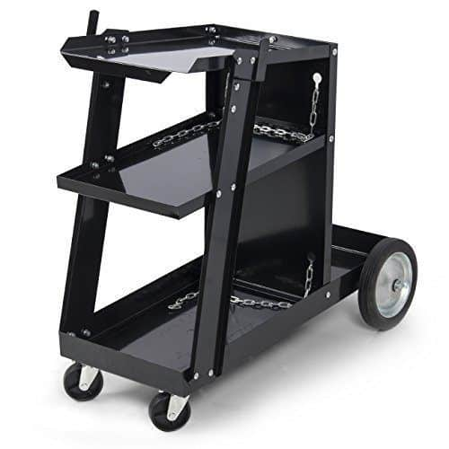 yaheetech welding cart is great for your stick welder