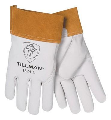 Tillman Medium Pearl Grain Cowhide