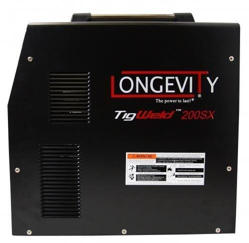Longevity 200SX . TIG and stick welder for light work or the hobbyist