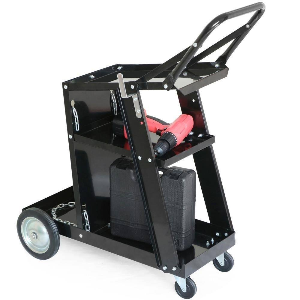 yaheetech welding cart - good option for stick welders
