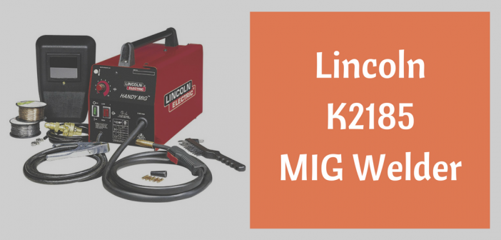 K2185 MIG welder from Lincoln Electric