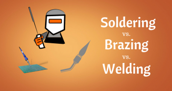 know the difference among welding, soldering and brazing?
