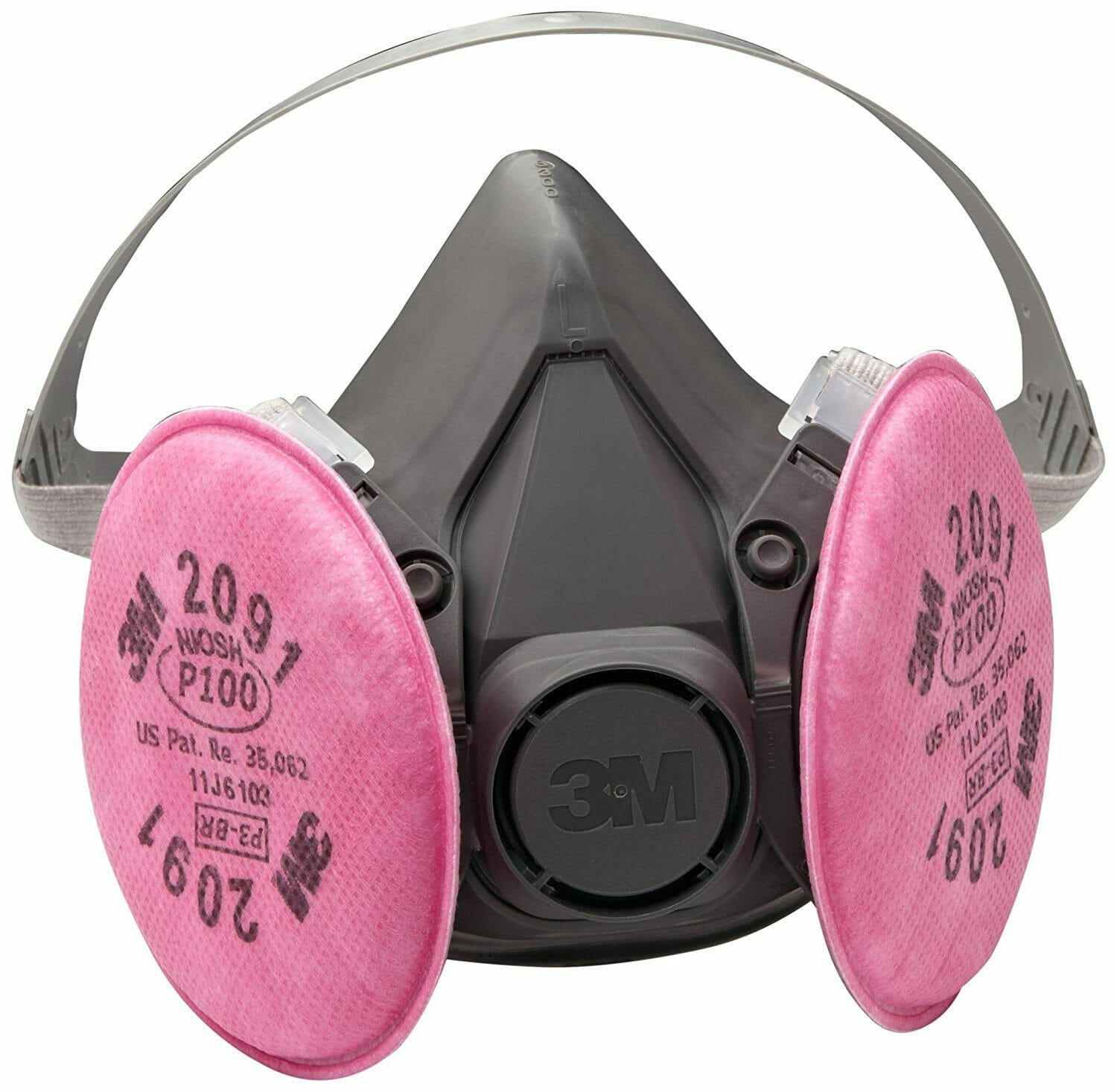 3M 6391 P100 Reusable Respirator Gas Mask