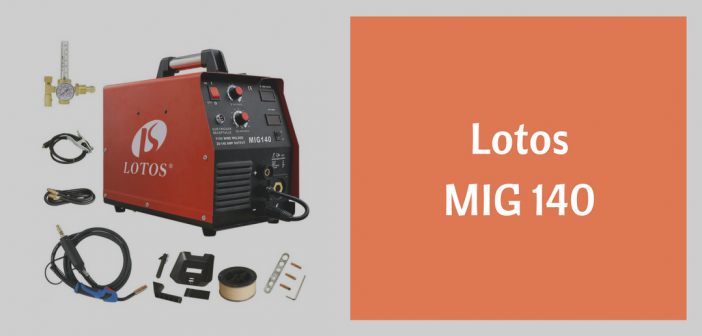 review of the lotos mig 140 welder