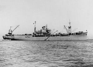 SS Exchequer aka USS Pocomoke, first completed welded ship