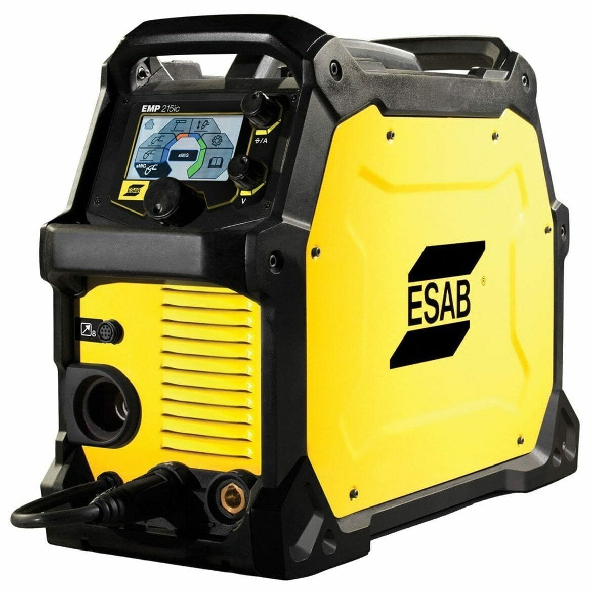 black and yellow ESAB 0558101694