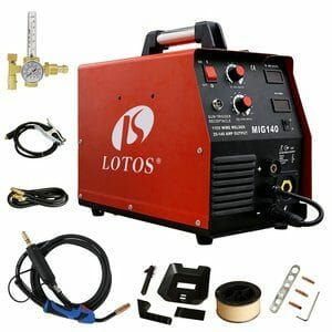 Lotos 140 in Red and Black