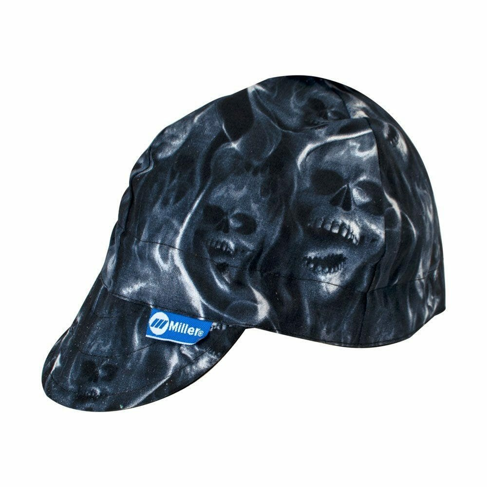 Miller Genuine Arc Armor Ghost Skulls Welding Cap