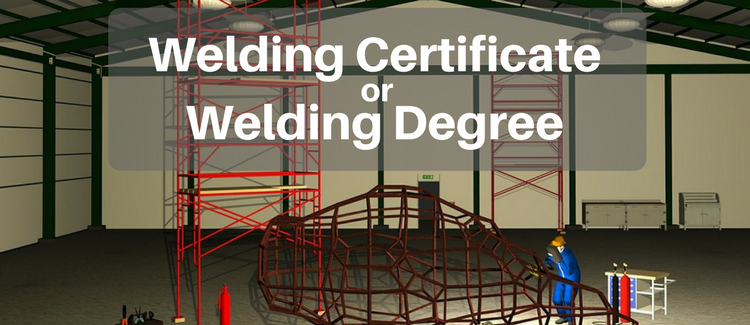 welding certificate vs welding degree