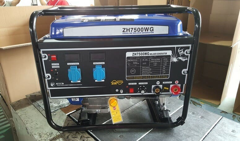 Welder Generator On Petrol