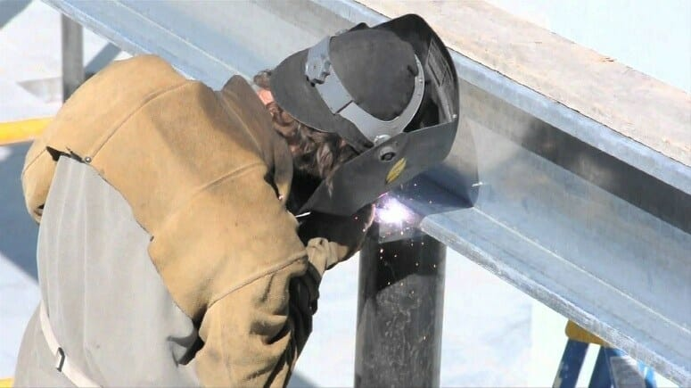 Welding Columns And Beams