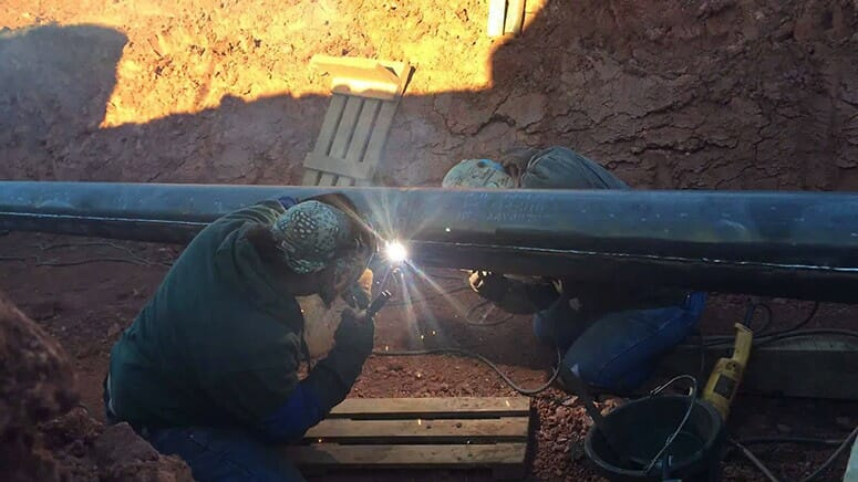 Welding Sleeves Pipe Repair