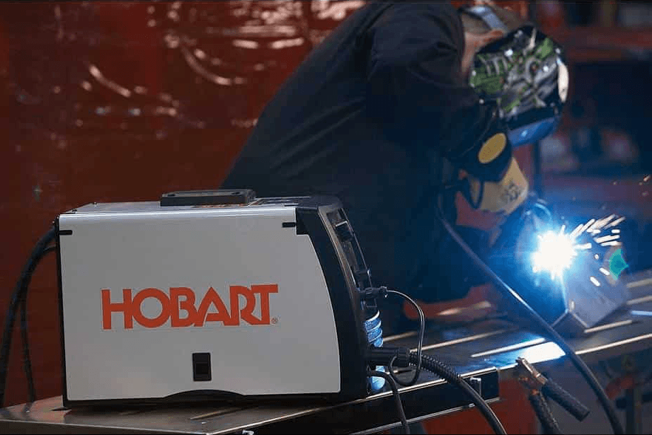 using hobart welder