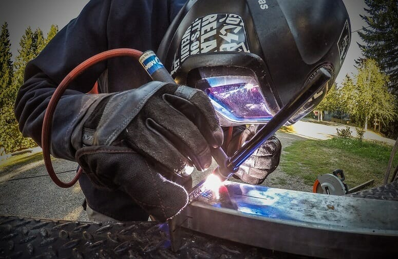 Using Shielded Metal Arc Welding
