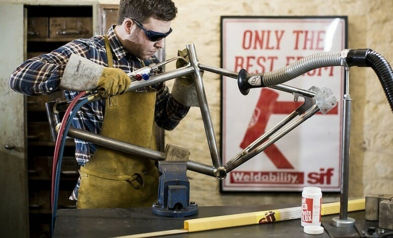 Welding Bicycle Frame