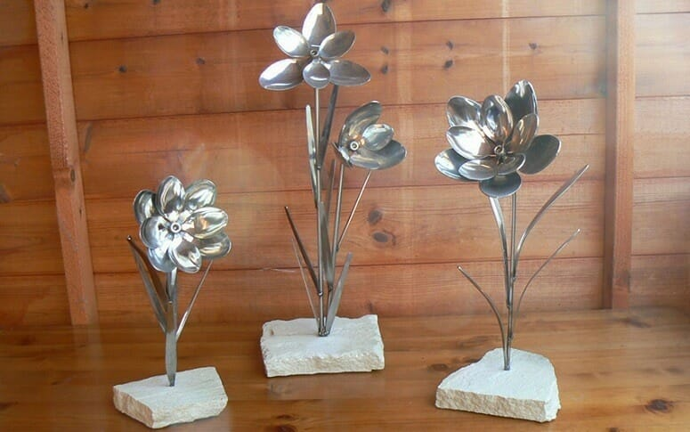 DIY Spoon Flowers