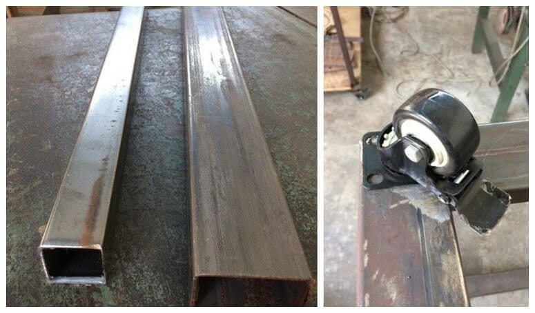 Materials For DIY Welding Table