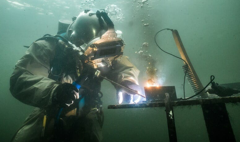 Wet Underwater Welding