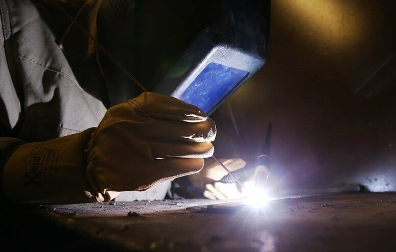 Using Gas Tungsten Arc Welding Technique
