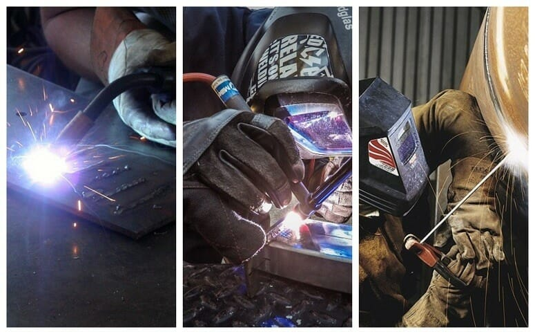 Three Welding Types