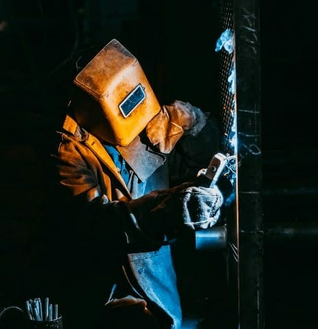 stick welding steel