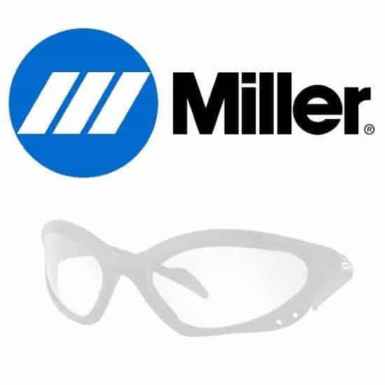 miller logo and glasses